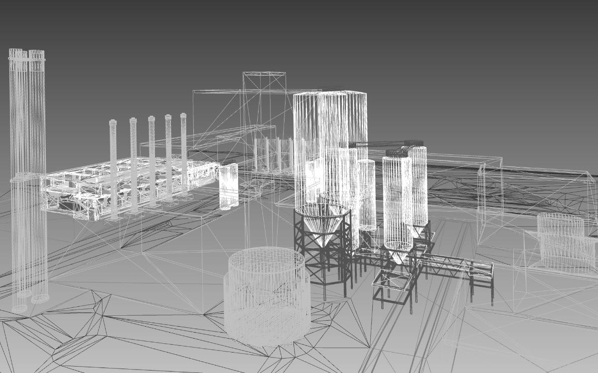 3D-Model Gasbetrieb 2023