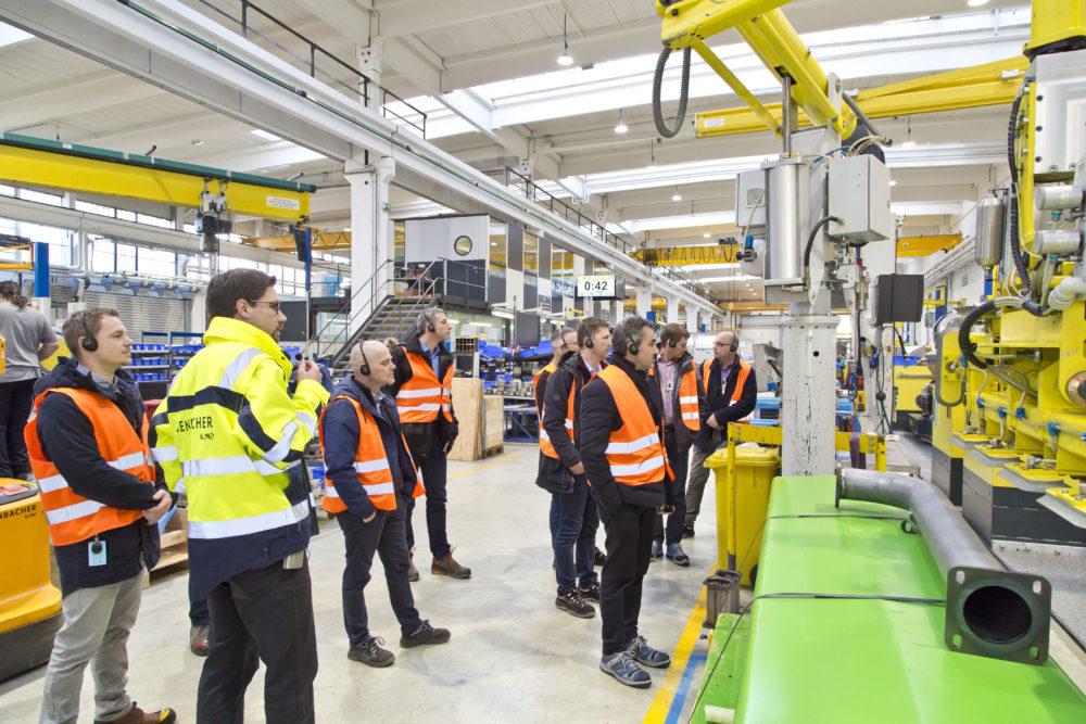 Jenbacher-Produktionsstätte Gasmotoren Cottbus